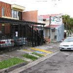 roadside view of Sabana B&B