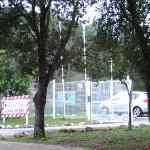 Paintball Fantasy carpark