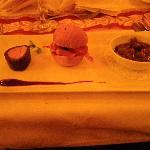 la trilogie de volaille avec petit pain du diner gala