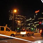 Hollywood at night L.A.