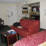 View of room from bedside