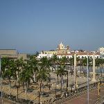 """vista desde la terraza del hotel """"mirador la heroica"""""""