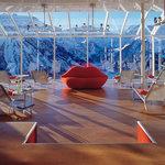 wellness on the top, der Wellnessbereich auf dem Hoteldach mit grandiosem Panoramablick