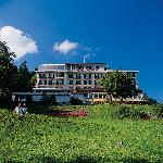 Das Märchenhotel im Sommer