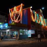 Hotel Saikrupa Shirdi at night