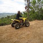 Four wheel riding