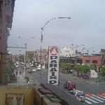 Calle Venezuela vista desde una habitacion