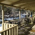 Back Porch of Deer Crest