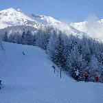 middle station down to apres ski!
