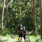 eco tours - mountain biking. this tour took us to some truly amazing off the beaten track places