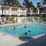piscine + hotel