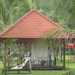 pavillon de massage sur la plage