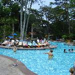 Another great pool, with waterslide and kid area
