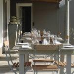 verandah at Reneessance Restaurant