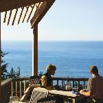 Enjoy our complimentary breakfast buffet overlooking the ocean