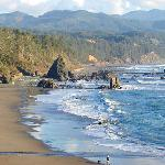 Port Orford Bay, a beautiful place to enjoy the Pacific Ocean