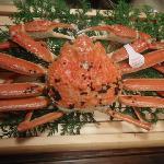 大きな蟹!