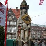 Mit Roland Bremen, a warrior kebanggaan bremer...