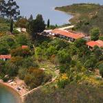 Aerial of Quinta and gardens