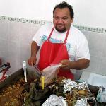 Sunday morning Cochinita Pibil in Colonia La Gloria