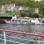 Cruising Loch Lomond at Inversnaid