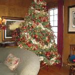 The Christmas tree in our room