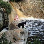 Hiking trails and mountain biking down to the Karatara River