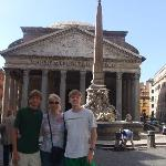 Pantheon is just about 100 yards away - amazing!
