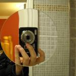 specchio con utilissimo ingrandimento