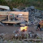 Bonfire on the Beach of Ocean Dream B&B