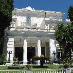 the palace facade