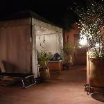 la terrasse by night