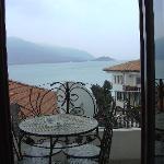 The piano room:balcony