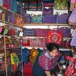 hand woven bags at Mercado de Artesanias