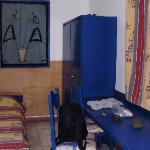 Room: desk & wardrobe