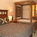 Master bedroom suite of the 2-Bedroom unit