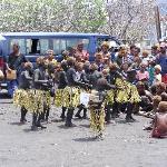 Local children dancing