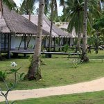 "On arrival at the Kalinaw Resort.  Kalinaw means ""peaceful"" in the local language.  Exactly what"