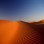 Dunes near Zagora, Morocco