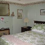 romantische Bett