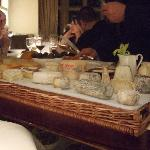 A great selection of cheeses!