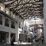 Small Shopping Aracde(still under construction) next to Bab Al Bahrain