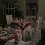 Inside dinning room - very cozy