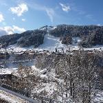 View - bridge & village