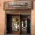 Entrada a Restaurante Portichuelo