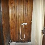 Salle de bain mise à la disosition du chauffeur