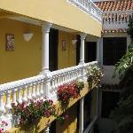 internal balconies