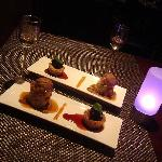 Ember restaurant Breckenridge CO, dessert duo