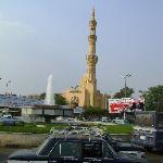 Moscheansicht über dem Nil b. Longchamps