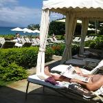 Four Seasons Maui.  Yes, this was a snob day for us